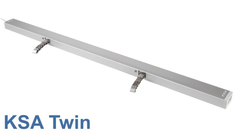 Kettenschubantrieb KSA Twin